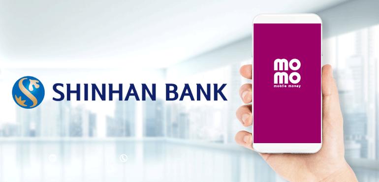 Liên kết momo với eximbank