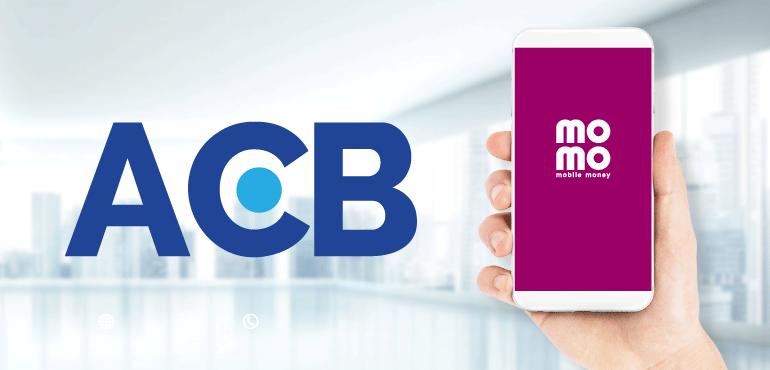 Liên kết ví MoMo với ngân hàng ACB
