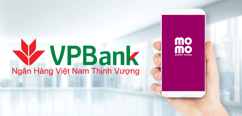 Liên kết momo với vpbank