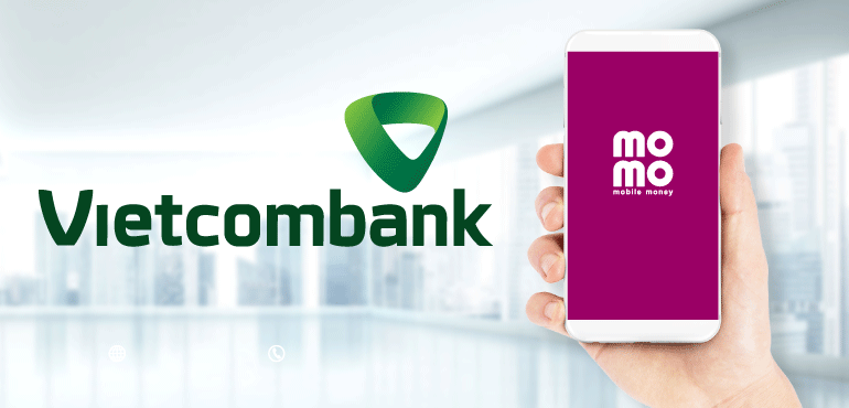 Liên kết ví MoMo và Vietcombank