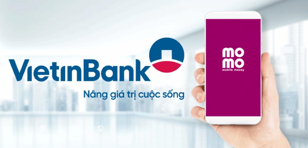 liên kết momo với ngân hàng vietinbank