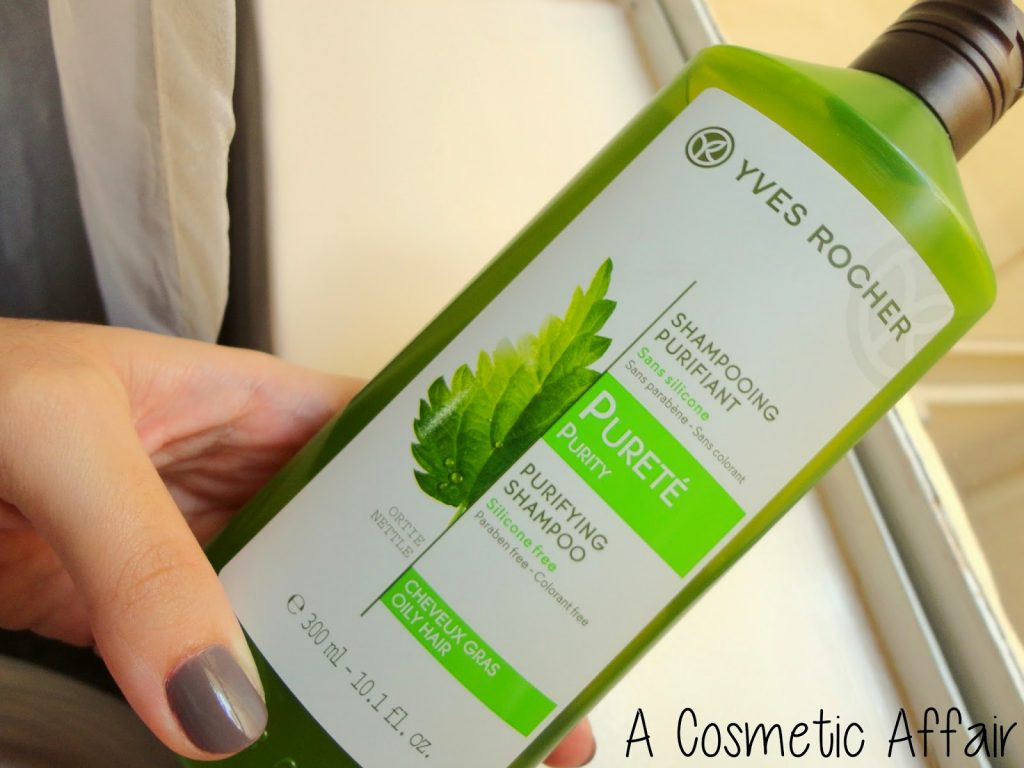 Dầu gội Yves Rocher Purifying Shampoo dành cho tóc dầu