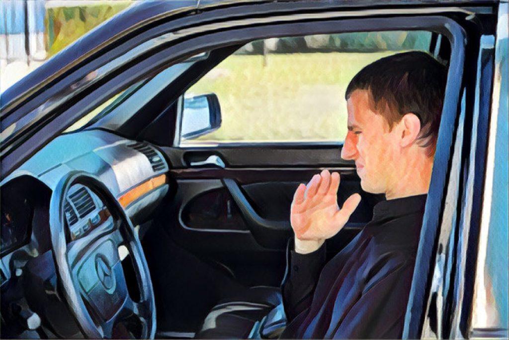 vấn đề mùi hôi trên xe hơi nan giải