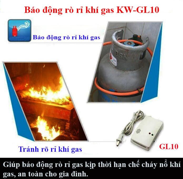 hạn chế việc cháy nổ do rò rỉ khí gas gây ra