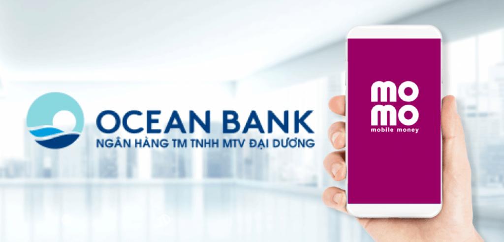 cách liên kết momo với oceanbank