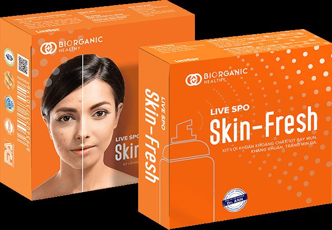 những điều mà skin fresh đem đến cho bạn