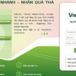 tạo tài khoản internet banking vietcombank