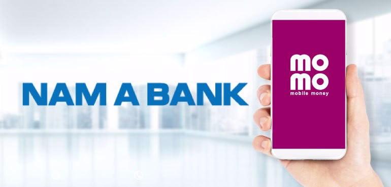 ngân hàng nam á và momo