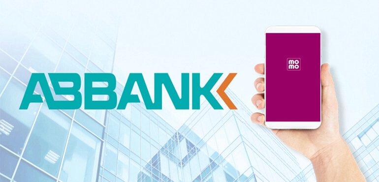 Liên kết ví momo với ngân hàng Abbank