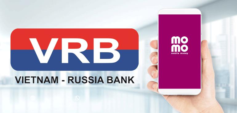 liên kết momo với ngân hàng VRB