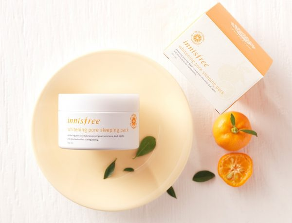 kem dưỡng da innisFree-Whitening Pore Cream