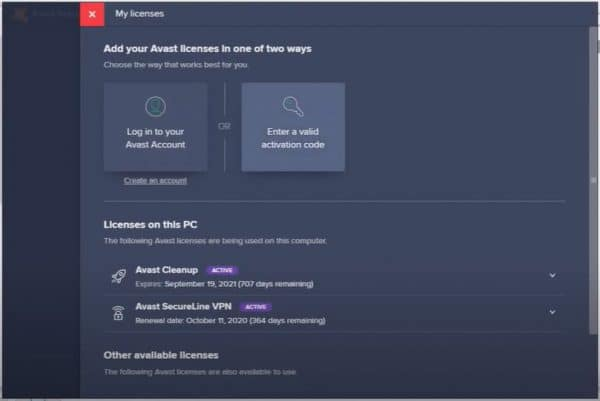 share key avast secureline vpn
