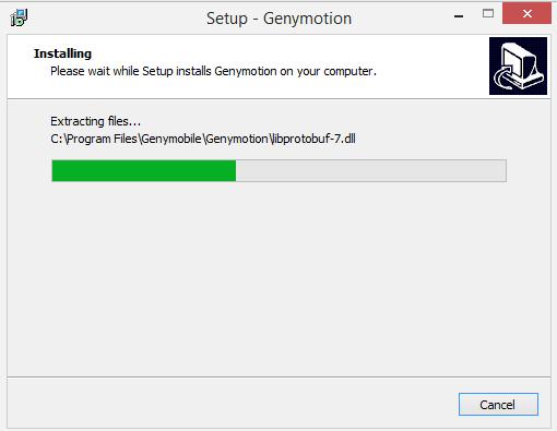 Cài đặt genymotion full crack