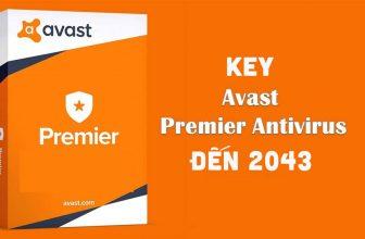 Share key avast premier đến 2043