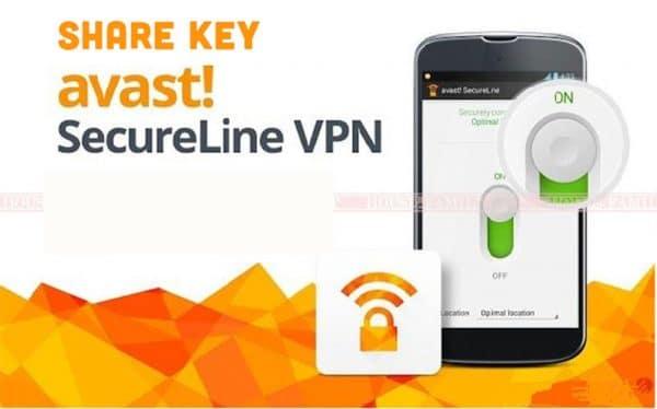 chia sẻ bộ key Avast Secureline VPN