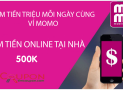 Nhập mã giới thiệu MoMo nhận đến 999k – Mã khuyến mãi MoMo