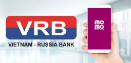 Liên kết ví MoMo với Ngân Hàng VRBank