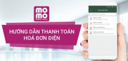 Thanh toán hóa đơn tiền điện nhanh gọn, an toàn bằng ví MoMo