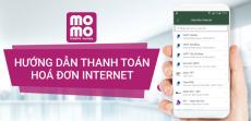 Hướng dẫn cách thức thanh toán hóa đơn Internet bằng ví MoMo