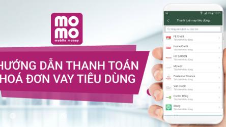 Thanh toán hóa đơn vay tiêu dùng bằng Ví MoMo, săn quà liền tay!