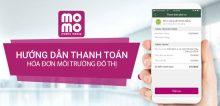 Hướng dẫn thanh toán hóa đơn đô thị môi trường bằng ví MoMo